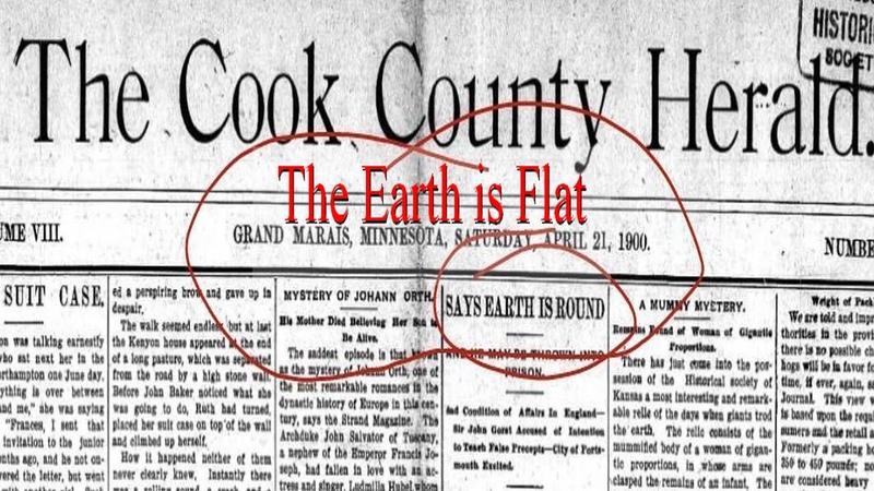 Geozentrisches Weltbild Einhundert Jahre alte Dame erklärt die Flache Erde aus Ihrer Schulzeit