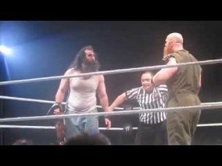 [#My1]WWE Live Belfast May 2014 - Luke Harper and Erick Rowan wins the Tag Team Championships