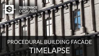 Substance Designer - Building Facade