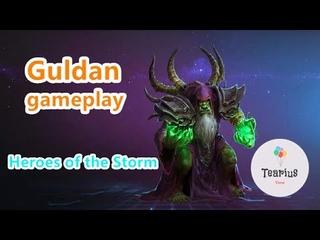 Guldan gameplay 2020 heroes of the storm gameplay 2020  HotS gameplay game tutorial, billizard game