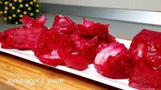 ХорошА капуста ♨ Маринованная капуста ♨ ЖЕНА МУЖА УЧИТ ♨ Вкусные домашние рецепты
