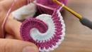 Super Easy hairband Knitting - Tığ İşi Çok Guzel Örgü Modeli