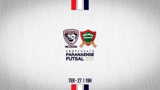Campeonato Paranaense - Cascavel Futsal x Palmas