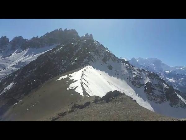 Yaks en la Montaña