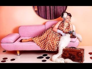 Прекрасная Нина в моём объективе на съемке в стиле пин-ап. Фотограф - я, Лена Тряпицына.
