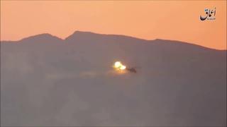 В Сирии сбили новый российский вертолет Ми-35М