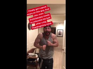 Личный архив: публикация Скотта Эванса в «Instagram»-аккаунте | 26 ноября 2020