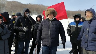 Памятный флешмоб Защитники Куштау 23 февраля 2021 года