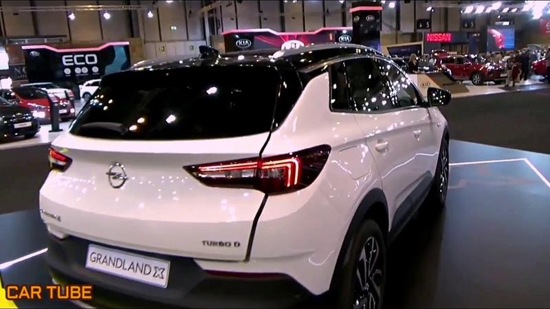 NEW 2019 OPEL GRANDLAND X SUPER PREMIUM CAR SUV EXTERIOR AND INTERIOR