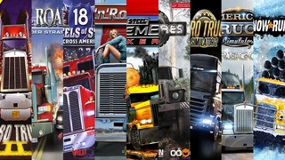 The Evolution Of Truck Simulator Games (1985-2020)