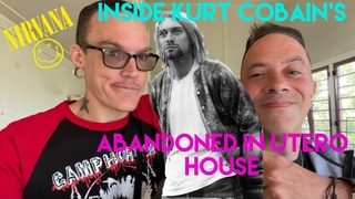 INSIDE Kurt Cobain's Abandoned Hollywood Hills In Utero House | Full Explore w/ Grimmlifecollective