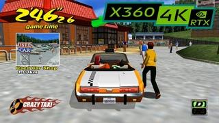 Crazy Taxi / RTX 3080 / XBOX 360 emulator XENIA PC